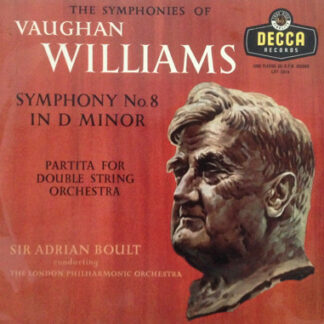 Vaughan Williams*, Sir Adrian Boult Conducting The London Philharmonic Orchestra - Symphony No. 8 In D Minor / Partita For Double String Orchestra (LP, Mono)