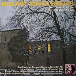 Wolfgang Amadeus Mozart - Missa Brevis (LP)