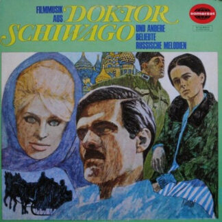 Das Cinema Stage Orchestra* - Filmmusik Aus Doktor Schiwago Und Andere Beliebte Russische Melodien (LP)