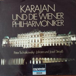 Herbert von Karajan, Wiener Philharmoniker - Karajan und die Wiener Philharmoniker (LP, Comp)