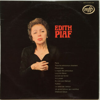 Edith Piaf - Edith Piaf (LP, Comp)