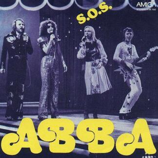 """ABBA - S.O.S. (7"""", Single)"""