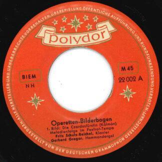 """Kálmán* / Lehár* - Operetten-Bilderbogen (7"""", Single, Mono)"""