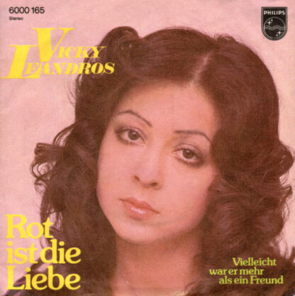 "Vicky Leandros - Rot Ist Die Liebe (7"", Single)"