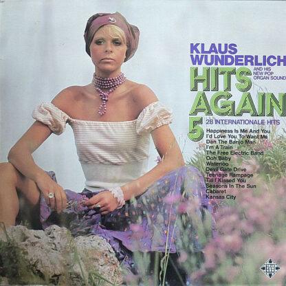 Klaus Wunderlich - Hits Again 5 (LP, Promo)