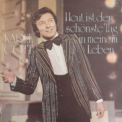 Karel Gott - Heut Ist Der Schönste Tag In Meinem Leben (LP, Album, RP, Red)