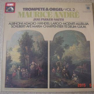 Maurice André, Jane Parker-Smith - Trompete & Orgel Vol. 2 (LP, Quad)