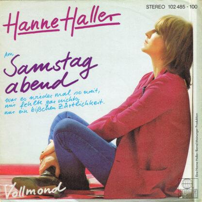 """Hanne Haller - Samstag Abend (7"""", Single)"""