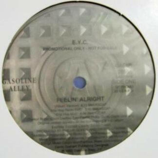 """E.Y.C. - Feelin' Alright (12"""", Promo)"""