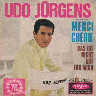 """Udo Jürgens - Merci Chérie / Das Ist Nicht Gut Für Mich (7"""", Single)"""