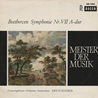 Beethoven* - Concertgebouw-Orchester, Amsterdam*, Erich Kleiber - Symphony Nr. VII A-dur (LP, Mono)