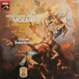 Wolfgang Amadeus Mozart, English Chamber Orchestra, Daniel Barenboim - Sinfonien Nr. 40 und 41 Jupiter (LP)