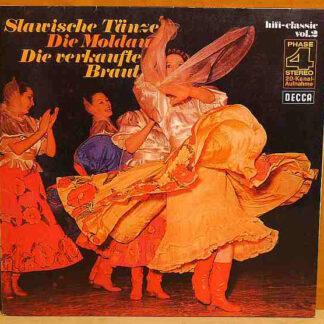 Antonín Dvořák, Friedrich Smetana*, London Symphony Orchestra*, Stanley Black - Hifi-Classic Vol.2: Slawische Tänze, Die Moldau, Die Verkaufte Braut (LP, Comp, Gat)