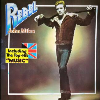 John Miles - Rebel (LP, Album, RE)