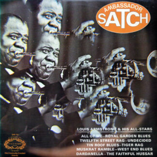 Louis Armstrong & His All-Stars* - Ambassador Satch (LP, Album, Mixed)