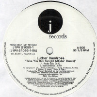 """Luther Vandross - Take You Out Tonight (Allstar Remix) (12"""", Promo)"""