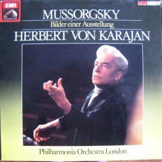 Modest Mussorgsky, Alexander Borodin, Philharmonia Orchestra London*, Herbert von Karajan - Bilder Einer Ausstellung (LP, Comp)