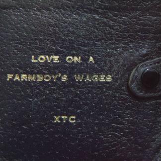 """XTC - Love On A Farmboy's Wages (12"""", Single)"""