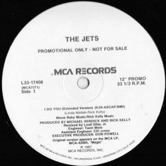 """The Jets - I Do You (12"""", Promo)"""