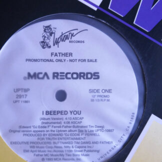 "Father* - I Beeped You (12"", Promo)"