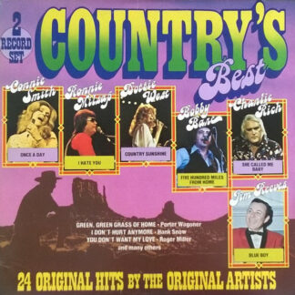 Various - Country's Best (2xLP, Comp)
