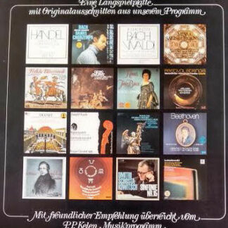 Various - Hörproben Aus Dem P.P. Kelen Musikprogramm (LP, Comp, Promo)