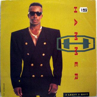"""MC Hammer - 2 Legit 2 Quit (12"""", Single)"""