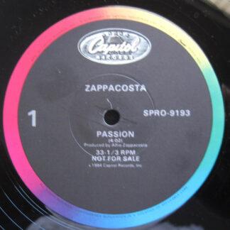 """Zappacosta - Passion (12"""", Promo)"""