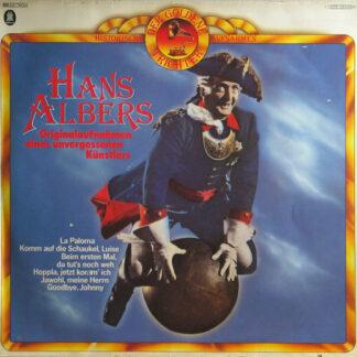 Hans Albers - Originalaufnahmen Eines Unvergessenen Künstlers (LP, Comp, Mono)