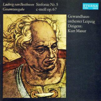 Ludwig van Beethoven, Gewandhausorchester Leipzig , Dirigent: Kurt Masur - Sinfonie Nr. 5 C-moll Op. 67 (LP, RP)