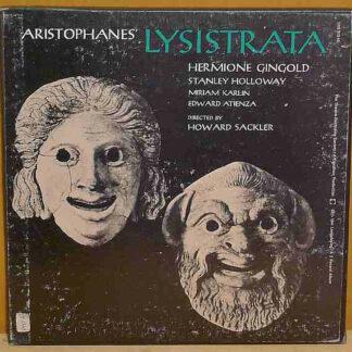 Aristophanes / Hermione Gingold / Stanley Holloway / Miriam Karlin / Edward Atienza / Directed By Howard Sackler - Lysistrata (2xLP, Album, Mono, Box)