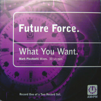 """Future Force - What You Want (Mark Picchiotti Mixes) (12"""", One)"""