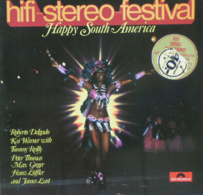 Various - Hifi-Stereo-Festival - Happy South America (LP, Comp, Gat)