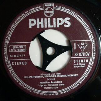 "Various - Hörprobe Aus Dem Philips / Fontana / Star-Club-Records / Mercury Katalog (7"")"
