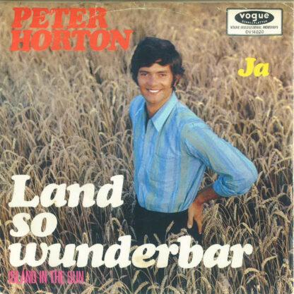 """Peter Horton - Land So Wunderbar (7"""", Single)"""