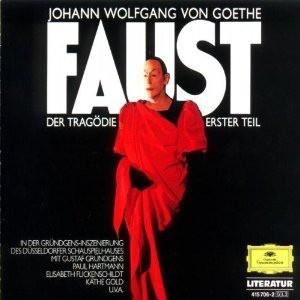 Johann Wolfgang Von Goethe / Gustaf Gründgens - Faust - Der Tragödie Erster Teil (3xLP, Album, RE)