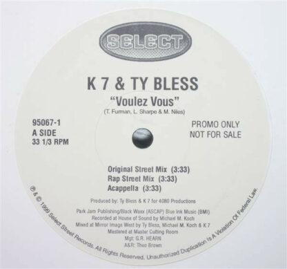 """K7 & Ty Bless - Voulez Vous (12"""", Promo)"""
