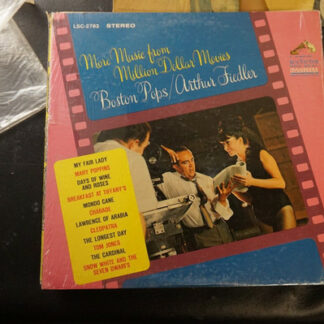 Boston Pops*, Arthur Fiedler - More Music From Million Dollar Movies (LP, Album, Ind)