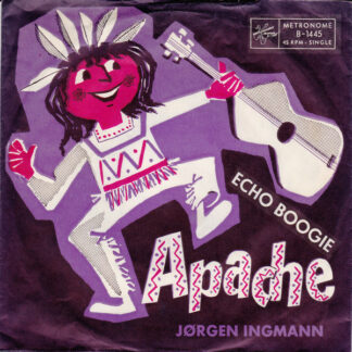 "Jørgen Ingmann - Apache (7"", Single, No )"