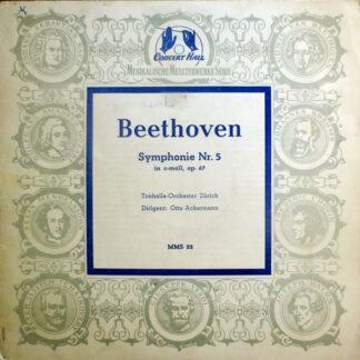 "Beethoven* - Tonhalle-Orchester Zürich Dirigent: Otto Ackermann - Symphonie Nr. 5 In C-moll, Op. 67 (10"")"