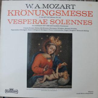 W.A. Mozart* - Krönungsmesse / Vesperae Solennes (LP)