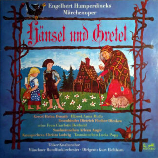 Engelbert Humperdinck (2), Helen Donath, Anna Moffo, Christa Ludwig, Dietrich Fischer-Dieskau - Hänsel Und Gretel (2xLP, Club, Gat)