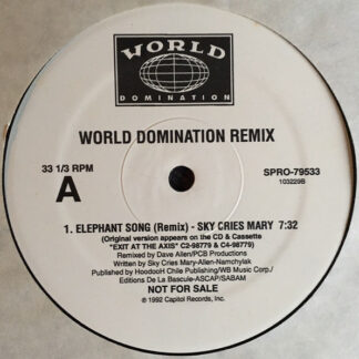 "Sky Cries Mary / Low Pop Suicide w/ Contagion - World Domination Remix (12"", Promo)"