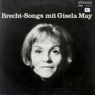 Gisela May - Brecht-Songs Mit Gisela May (LP)