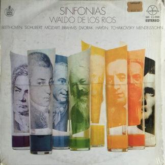 Waldo De Los Rios - Sinfonias (LP, Album)