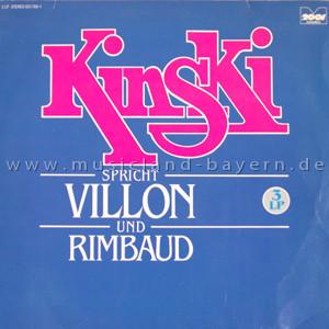 Klaus Kinski - Kinski Spricht Villon Und Rimbaud (3xLP, Comp)