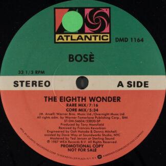 "Bosè* - The Eighth Wonder (12"", Single, Promo, SP )"