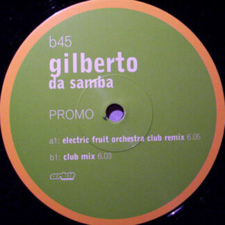 "Gilberto - Da Samba (12"", Promo)"