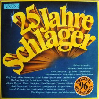 Various - 25 Jahre Schlager (6xLP, Comp)