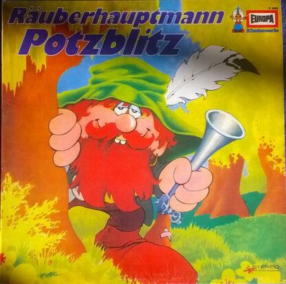 Eberhard Alexander-Burgh - Räuberhauptmann Potzblitz (LP)